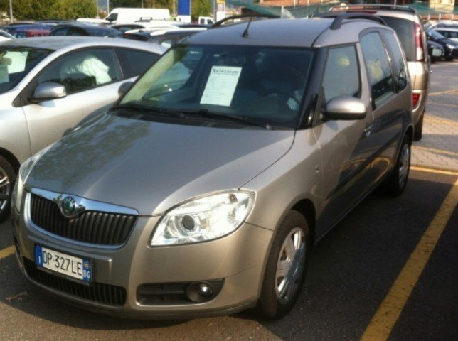 sold skoda roomster 1 6 16v comfor used cars for sale. Black Bedroom Furniture Sets. Home Design Ideas
