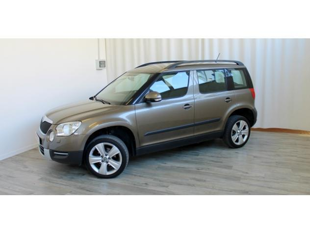 sold skoda yeti 2 0 tdi 110 hp 4wd used cars for sale. Black Bedroom Furniture Sets. Home Design Ideas