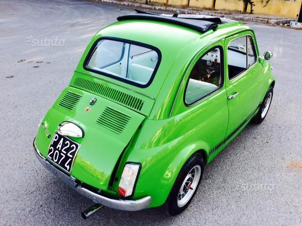 Venduto Fiat 500 Abarth F Epoca All D Auto Usate In Vendita