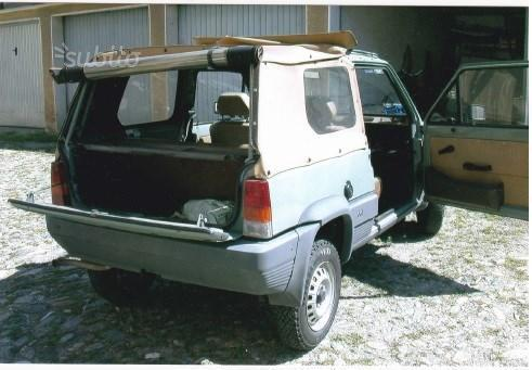 sold fiat panda 4x4 4x4 prima serie used cars for sale autouncle. Black Bedroom Furniture Sets. Home Design Ideas