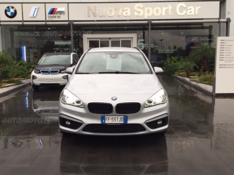 ... Usata BMW 218 Serie 2 Gran Tourer D Advantage Del 2016 Usata A Catania