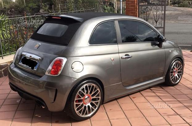sold fiat 500 abarth cabrio used cars for sale autouncle. Black Bedroom Furniture Sets. Home Design Ideas