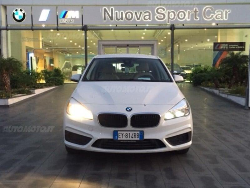 ... Usata BMW 218 Serie 2 Active Tourer D Del 2015 Usata A Catania ...