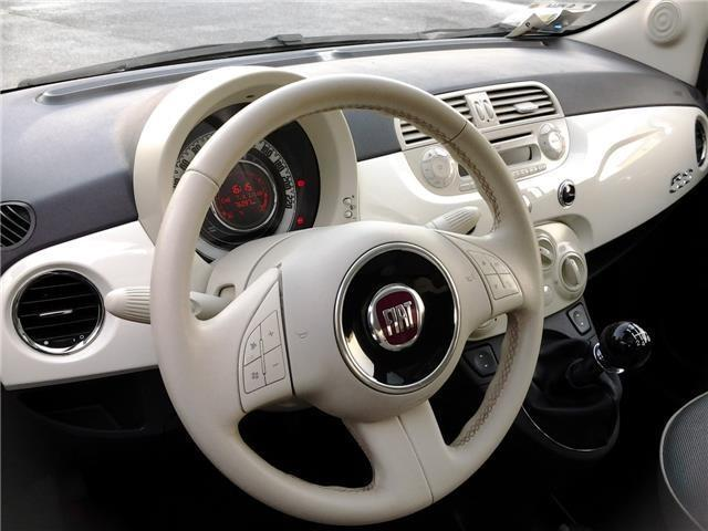 Usato 1.2 LOUNGE BIANCA INTERNI BIANCHI Fiat 500 – 2008, km 70.000 ...