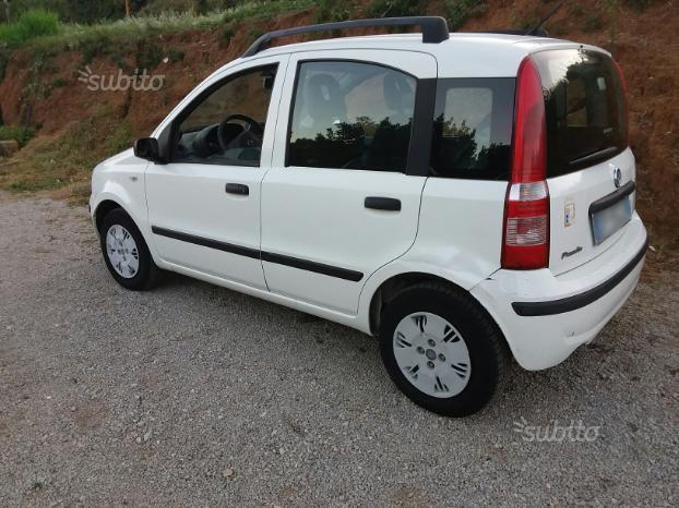 sold fiat panda bianca 2008 1 2 be used cars for sale autouncle. Black Bedroom Furniture Sets. Home Design Ideas