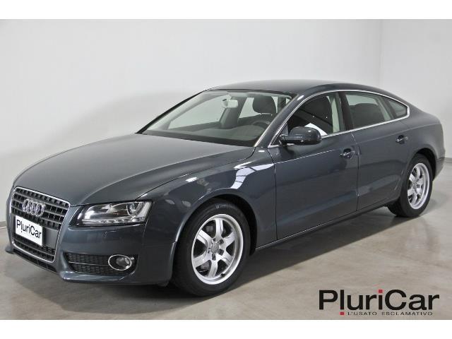 Audi a5 tdi usato bianco 8