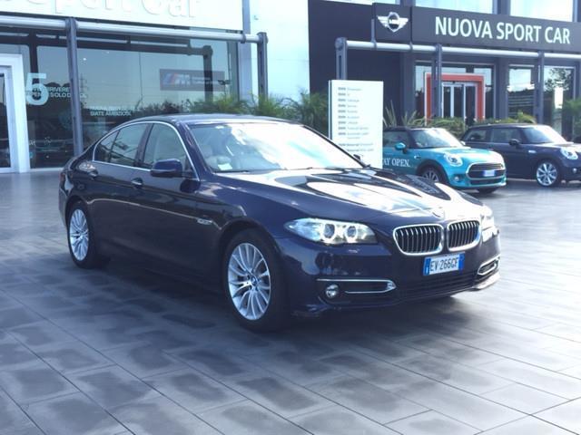 1/4 Usata BMW 520 Serie 5 D XDrive Luxury Del 2014 Usata A Catania
