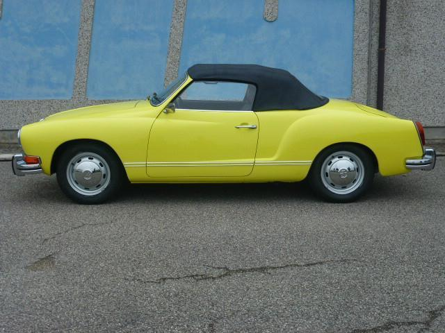 usato ghia cabrio vw karmann ghia 1972 km in. Black Bedroom Furniture Sets. Home Design Ideas