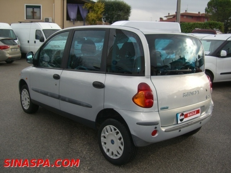 usato 1 6 16v gpower cat sx fiat multipla 2003 km in spilimbergo. Black Bedroom Furniture Sets. Home Design Ideas