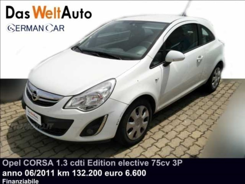 sold opel corsa 1 3 cdti 75cv f ap used cars for sale autouncle. Black Bedroom Furniture Sets. Home Design Ideas