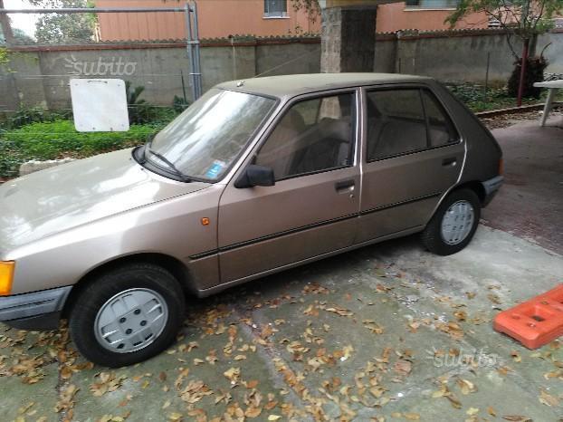 Sold Peugeot 205 1 1 5 Porte Gr