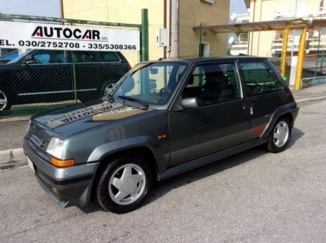sold renault r5 gt turbo asi u used cars for sale autouncle. Black Bedroom Furniture Sets. Home Design Ideas