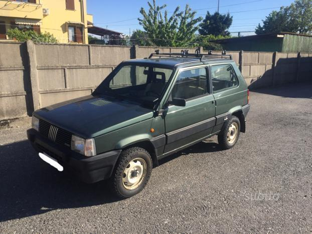 Sold fiat panda 1000 4x4 sisley used cars for sale for Fiat panda 4x4 sisley usata