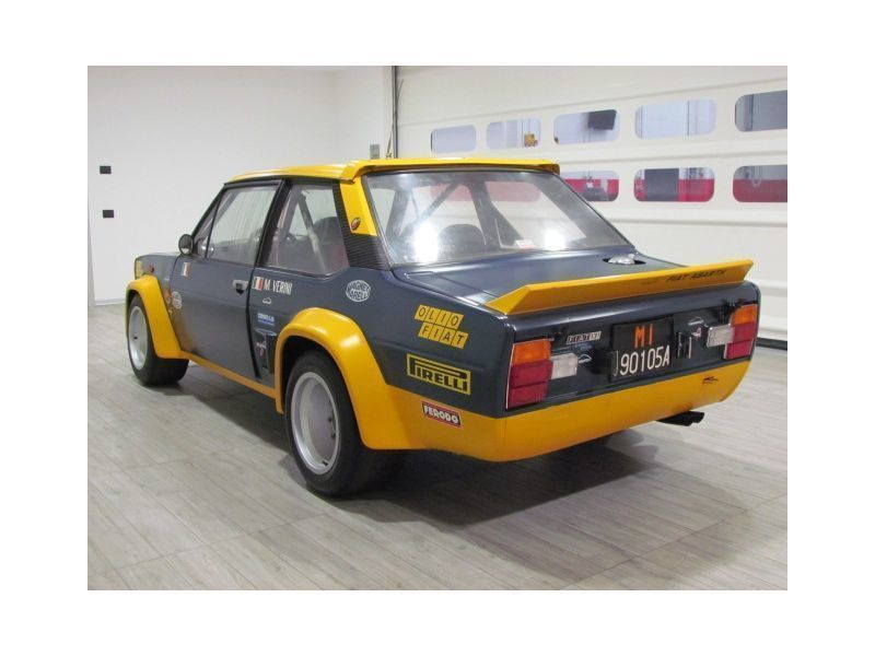 Sold Fiat 131 Abarth Ufficiale Oli Used Cars For Sale