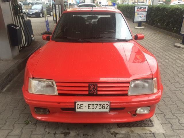 sold peugeot 205 1 9 gti dimma used cars for sale. Black Bedroom Furniture Sets. Home Design Ideas