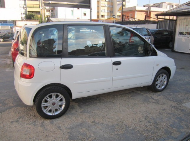 sold fiat multipla 1 6 16v natural used cars for sale autouncle. Black Bedroom Furniture Sets. Home Design Ideas
