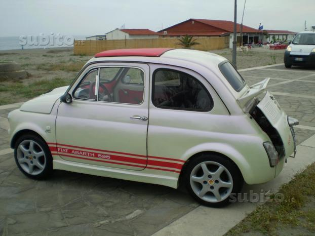 Sold Fiat 500 Abarth 595 Anni 70 Used Cars For Sale