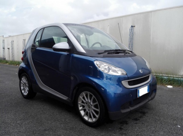 sold smart fortwo coup 1000 52 kw used cars for sale. Black Bedroom Furniture Sets. Home Design Ideas