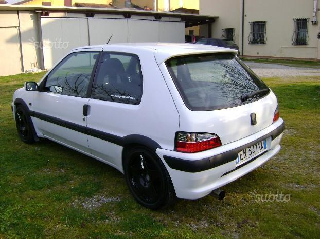 Usato cat 3 porte xs peugeot 106 1997 km in bertinoro fc - Porte finestre usate subito ...