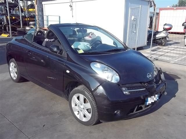 usato 1 4 16v sport cabrio nissan micra c c 2006 km in grottammare ap. Black Bedroom Furniture Sets. Home Design Ideas