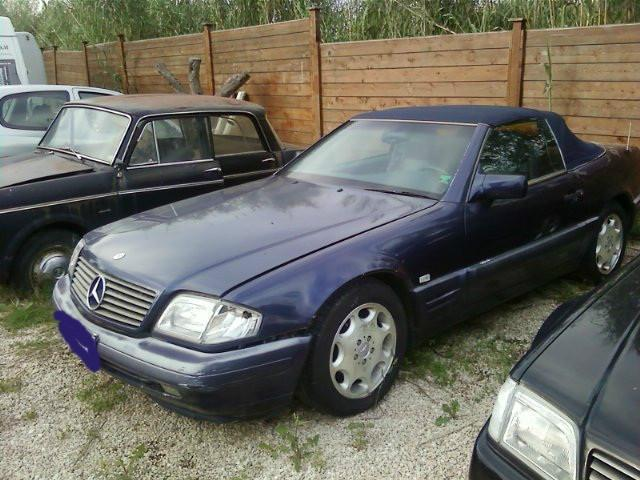 sold mercedes sl500 cat affare qua