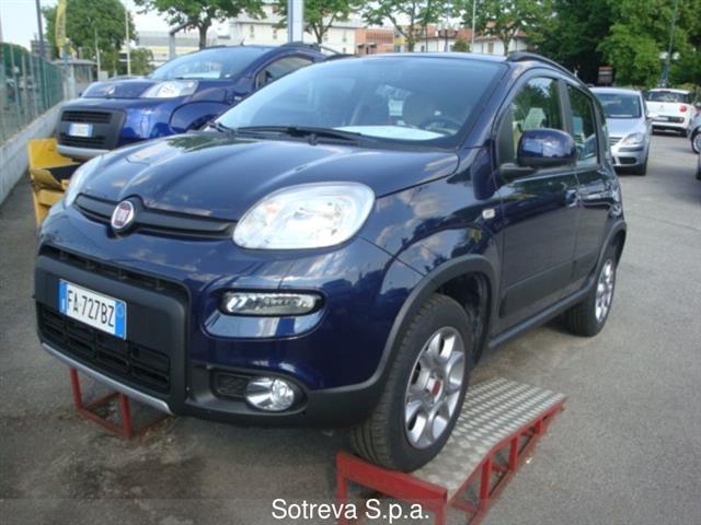 usata Fiat Panda 4x4 1.3 mjt 16v 75cv E5+