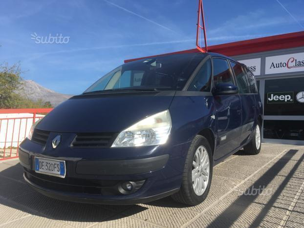 usato 2 2 16v dci expression renault espace 2006 km in roma rm. Black Bedroom Furniture Sets. Home Design Ideas