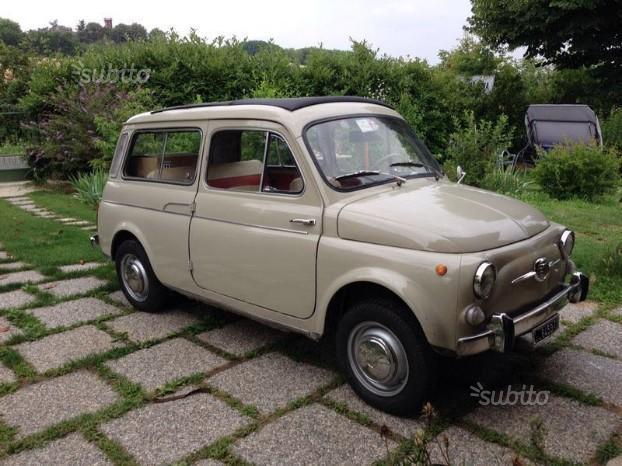 Venduto Fiat 500 Giardiniera 1967 Auto Usate In Vendita