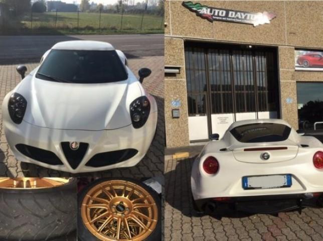 sold alfa romeo 4c 1750 tbi - used cars for sale - autouncle