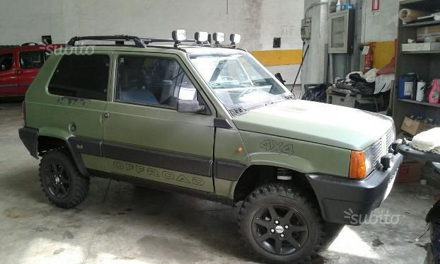 Sold fiat panda 4x4 sisley auto st used cars for sale for Fiat panda 4x4 sisley usata