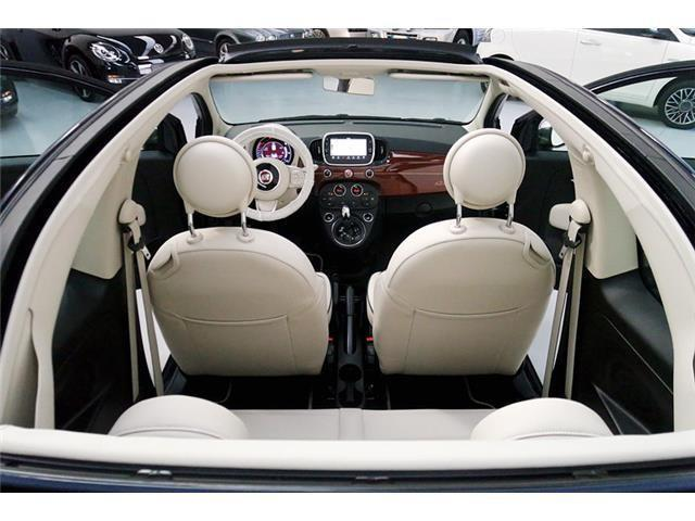 sold fiat 500 cabrio 1 2 riva dual used cars for sale. Black Bedroom Furniture Sets. Home Design Ideas