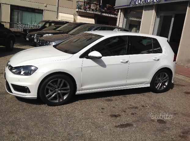 sold vw golf vii 2 0 tdi rline dsg used cars for sale. Black Bedroom Furniture Sets. Home Design Ideas