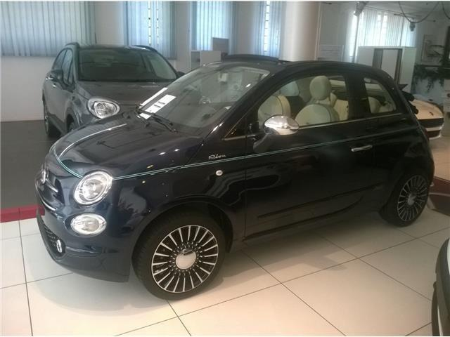 sold fiat 500 cabrio c 1 2 riva used cars for sale. Black Bedroom Furniture Sets. Home Design Ideas