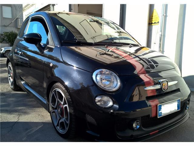 sold fiat 500 abarth 1 4 turbo used cars for sale. Black Bedroom Furniture Sets. Home Design Ideas