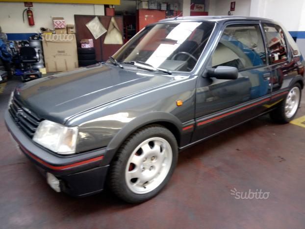 Sold peugeot 205 1 9 cat 3 porte g used cars for sale for Porte 205 gti