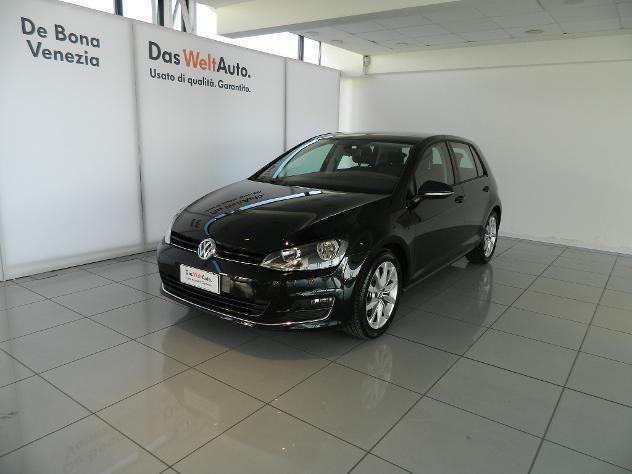 usata VW Golf 7ª serie 1.6 TDI 110 CV DSG 5p. Highline BlueMotion Technology