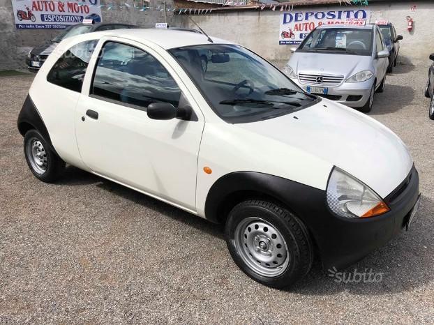sold ford ka 1 2 benzina 2004 90mi used cars for sale. Black Bedroom Furniture Sets. Home Design Ideas