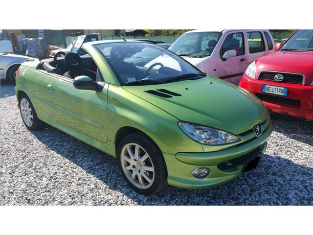 sold peugeot 206 cc 206 cabrio used cars for sale. Black Bedroom Furniture Sets. Home Design Ideas