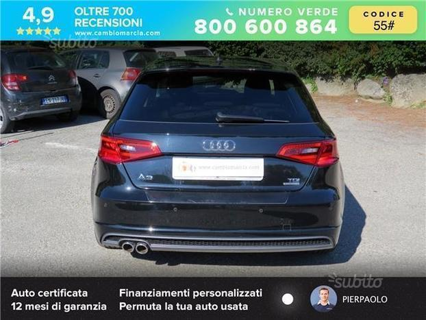 Sold Audi A3 Spb 2 0 Tdi 150 Cv Cl Used Cars For Sale Autouncle