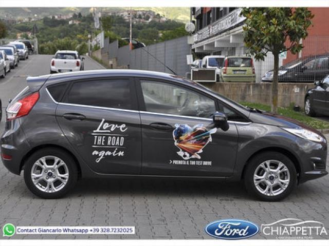 sold ford fiesta 100 titanium ecob used cars for sale autouncle. Black Bedroom Furniture Sets. Home Design Ideas