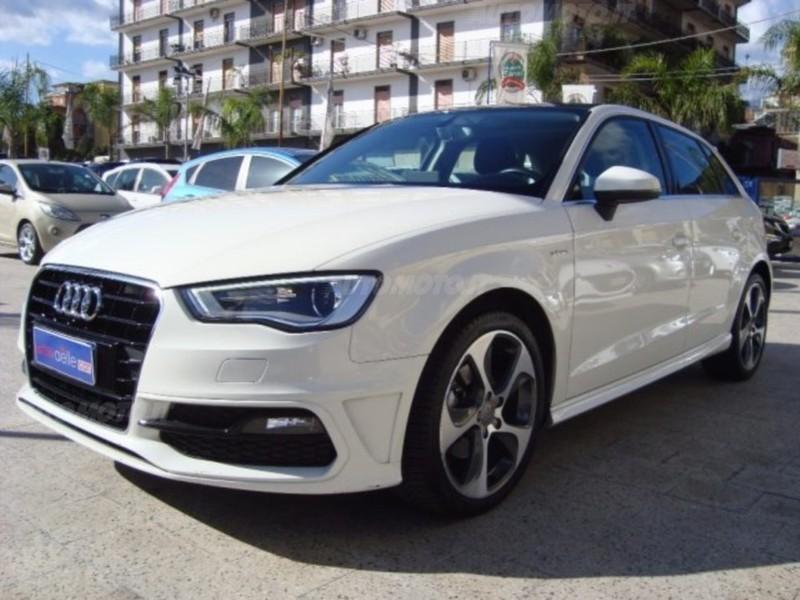 Sold audi a3 sportback 1 4 tfsi g used cars for sale for Prezzo del pacchetto di 2 box auto