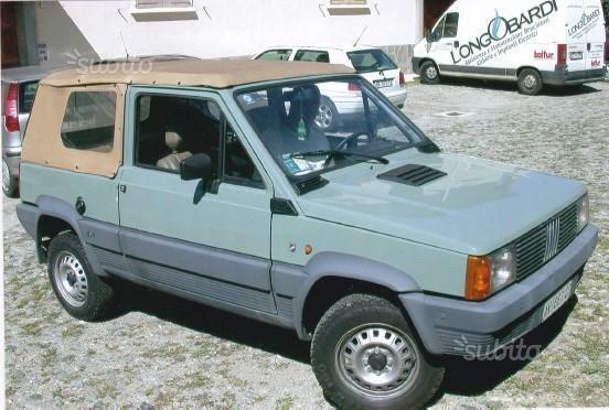 sold fiat panda 4x4 rock moretti used cars for sale. Black Bedroom Furniture Sets. Home Design Ideas