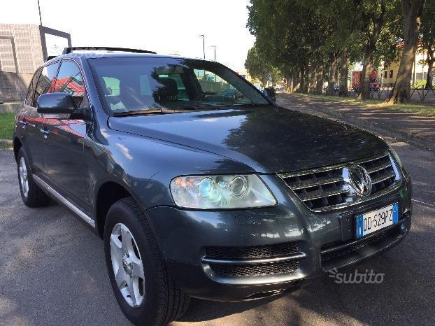 sold vw touareg 2 5 r5 tdi dpf exc used cars for sale autouncle. Black Bedroom Furniture Sets. Home Design Ideas