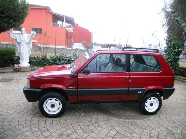 Usato 1000 4x4 sisley fiat panda 4x4 1991 km in for Fiat panda 4x4 sisley usata
