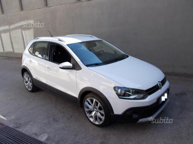 sold vw polo cross 1 4 tdi dsg blu used cars for sale autouncle. Black Bedroom Furniture Sets. Home Design Ideas