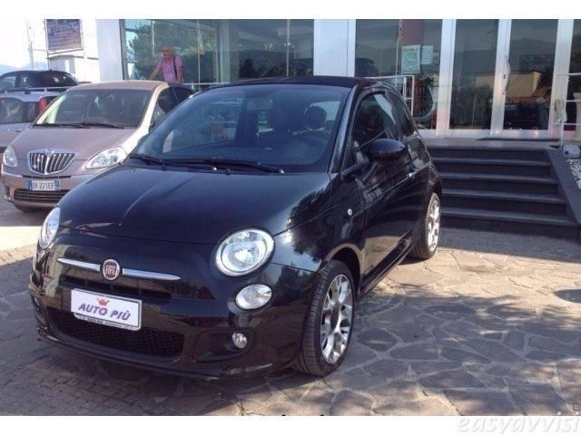 sold fiat 500 cabrio s sport cabrio used cars for sale. Black Bedroom Furniture Sets. Home Design Ideas