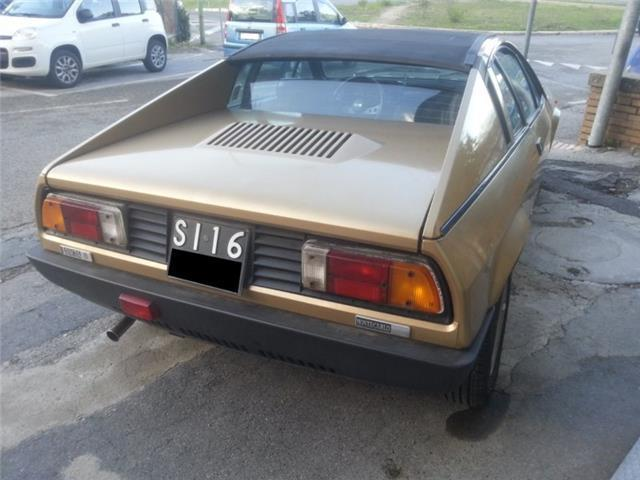 Sold Lancia Beta Montecarlo Targa