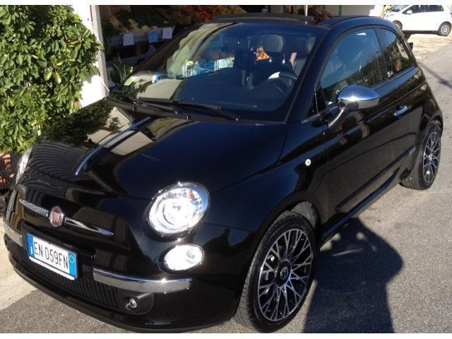 sold fiat 500c 500c1 2 by gucci used cars for sale. Black Bedroom Furniture Sets. Home Design Ideas