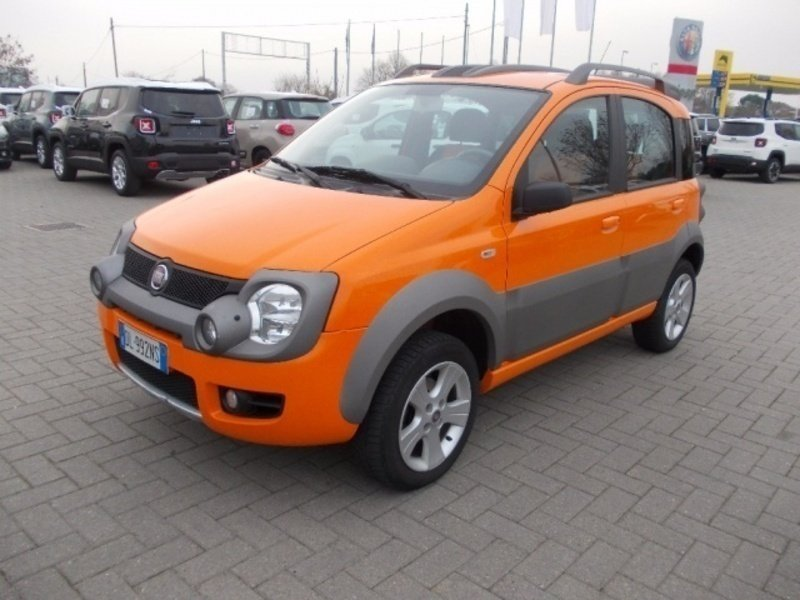 sold fiat panda cross 1 3 mjt 16v used cars for sale autouncle. Black Bedroom Furniture Sets. Home Design Ideas