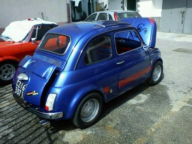 Venduto Fiat 500 Abarth 695 D Epoca A Auto Usate In Vendita